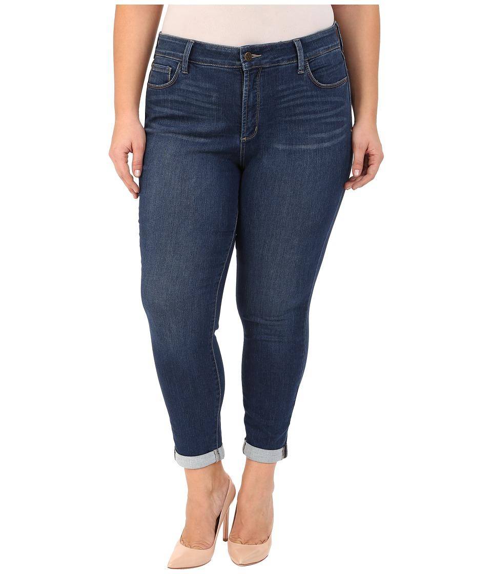 NYDJ Plus Size - Plus Size Anabelle Skinny Boyfriend in Echo Valley (Echo Valley) Women's Jeans