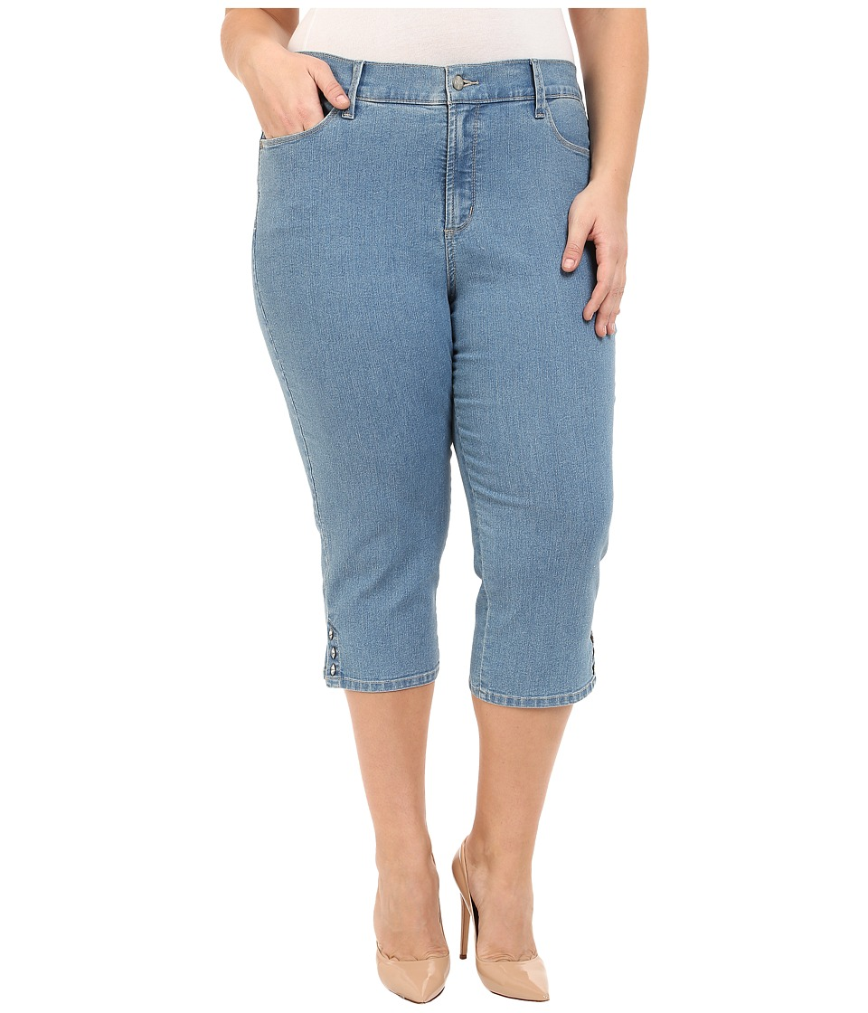 NYDJ Plus Size - Plus Size Ariel Crop in Milwaukee (Milwaukee) Women's Jeans