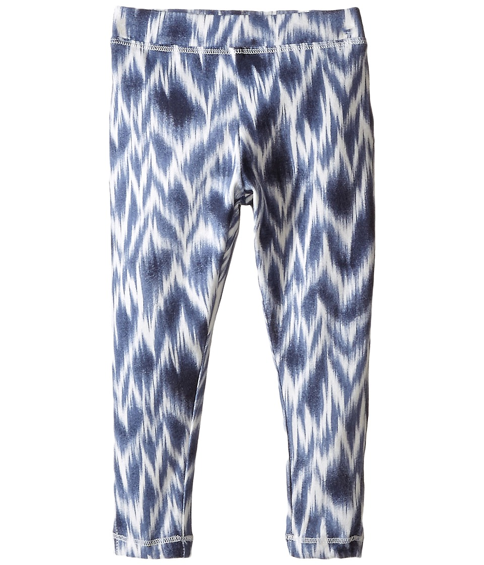 Lucky Brand Kids - Ikat Danielle Leggings (Toddler) (Blue Indigo Heather) Girl's Casual Pants