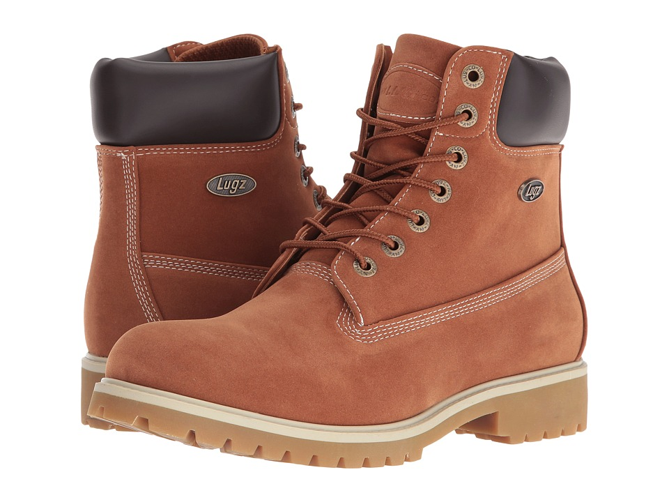 Lugz - Convoy (Rust Buck) Men's Lace-up Boots