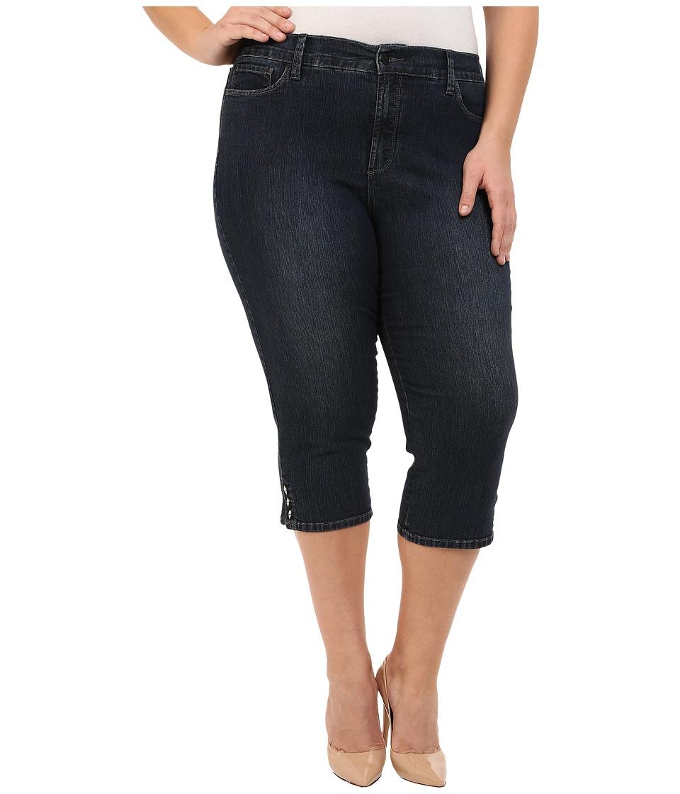 NYDJ Plus Size - Plus Size Ariel Crop in Burbank (Burbank) Women's Jeans