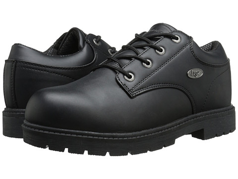 Lugz - Warrant Low (Black Smooth) Men