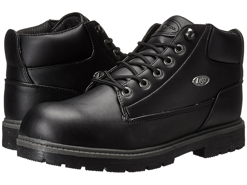 Lugz Warrant Mid (Black Smooth) Men