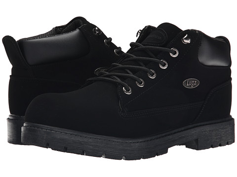 Lugz - Warrant Mid (Black Buck) Men's Shoes