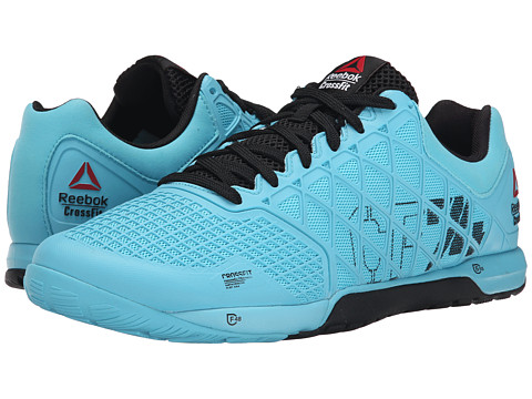 Reebok - R Crossfit Nano 4.0 (Neon Blue/Black) Men