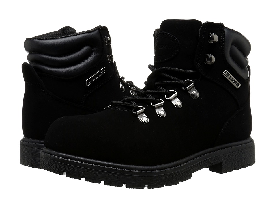 Lugz Grotto (Black Buck) Men