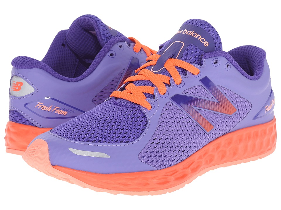 New Balance Kids KJZNT (Little Kid/Big Kid) (Purple) Girls Shoes