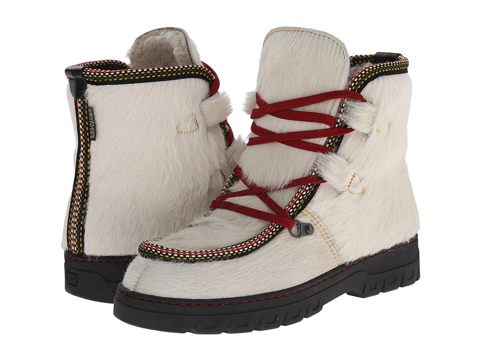 Penelope Chilvers - Incredible Boot (Winter White Bovine Leather) Women's Boots