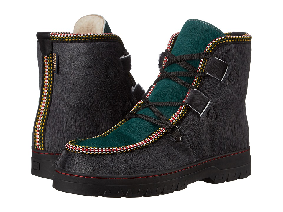 Penelope Chilvers - Incredible Boot (Slate/Green Bovine Leather) Women