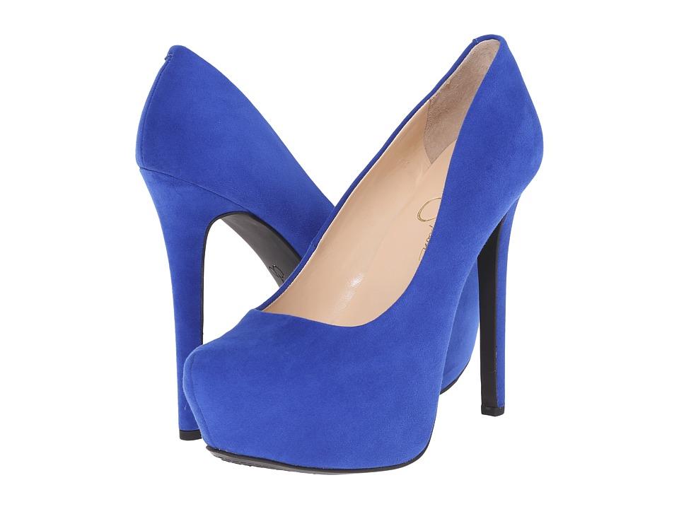 Jessica Simpson - Jasmint (New Cobalt Microsuede) High Heels