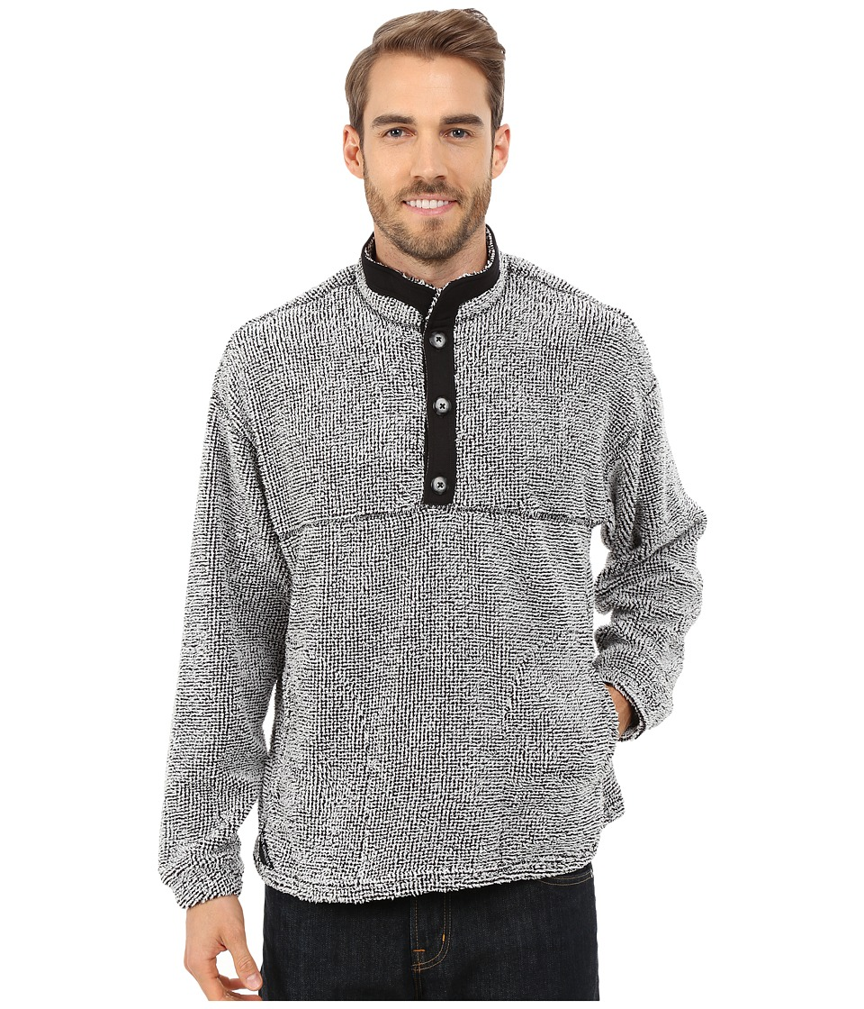 Hot Chillys - Pico Chubasco Pullover (Domino) Men's Sweatshirt