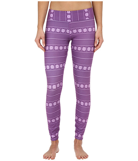 Hot Chillys - MTF4000 Sublimated Print Tights (Alpine Stripe) Women's Casual Pants