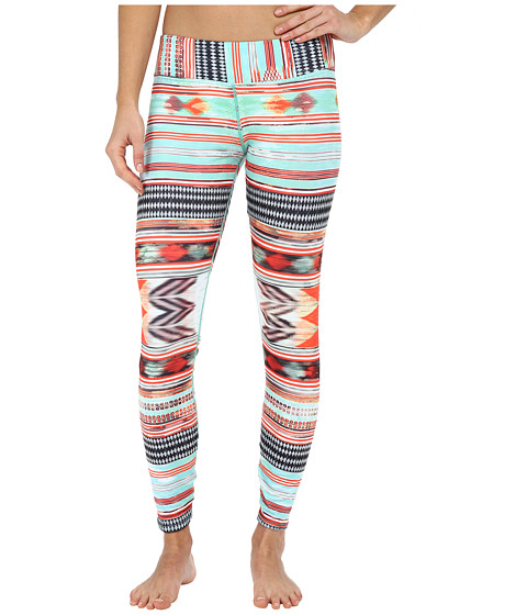 Hot Chillys - MTF4000 Sublimated Print Tights (Sacred Stripe) Women's Casual Pants