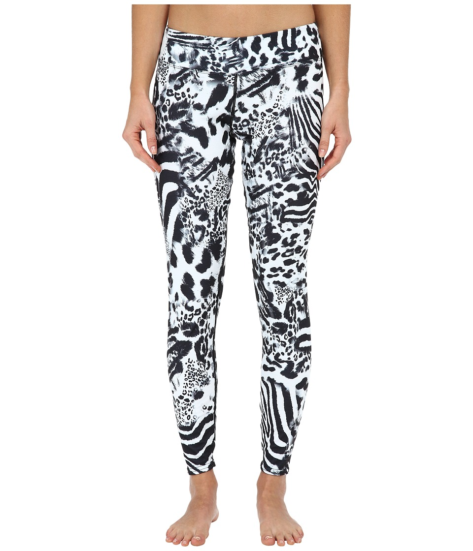 Hot Chillys - MTF4000 Sublimated Print Tights (Safari) Women's Casual Pants
