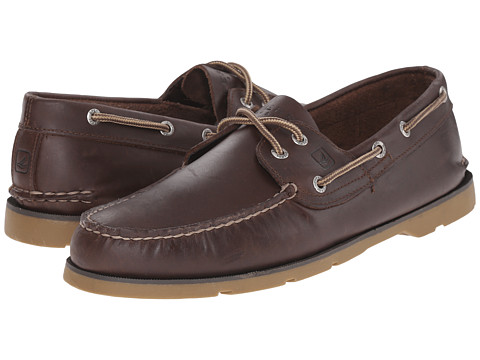 Sperry Top-Sider - Leeward 2-Eye (Dark Brown Honey) Men's Shoes