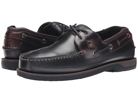 Sperry Top-Sider - Swordfish 2-Eye (Black/Amaretto) Men