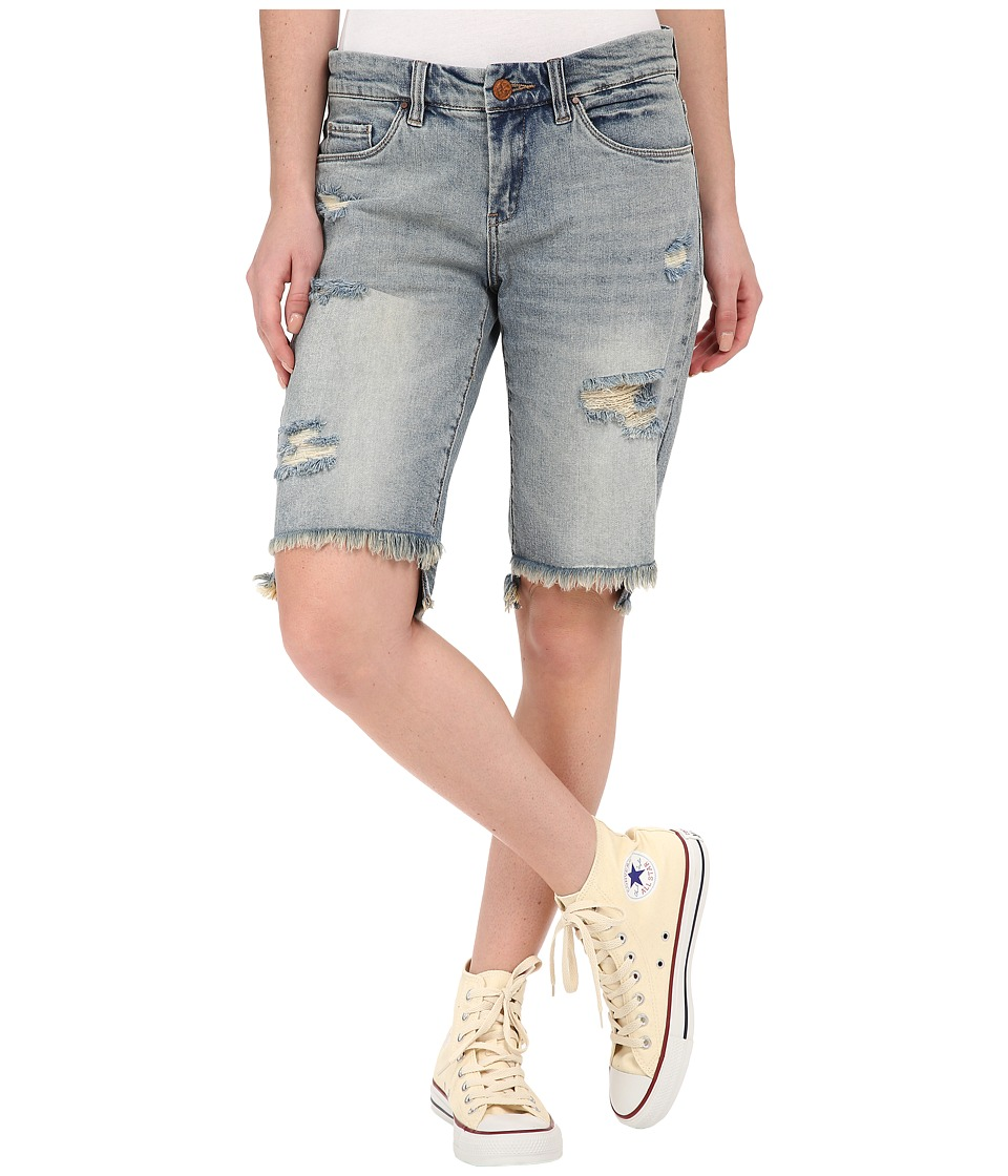 Blank NYC - Ripped Bermuda Shorts in Hate Watching (Hate Watching) Women's Shorts