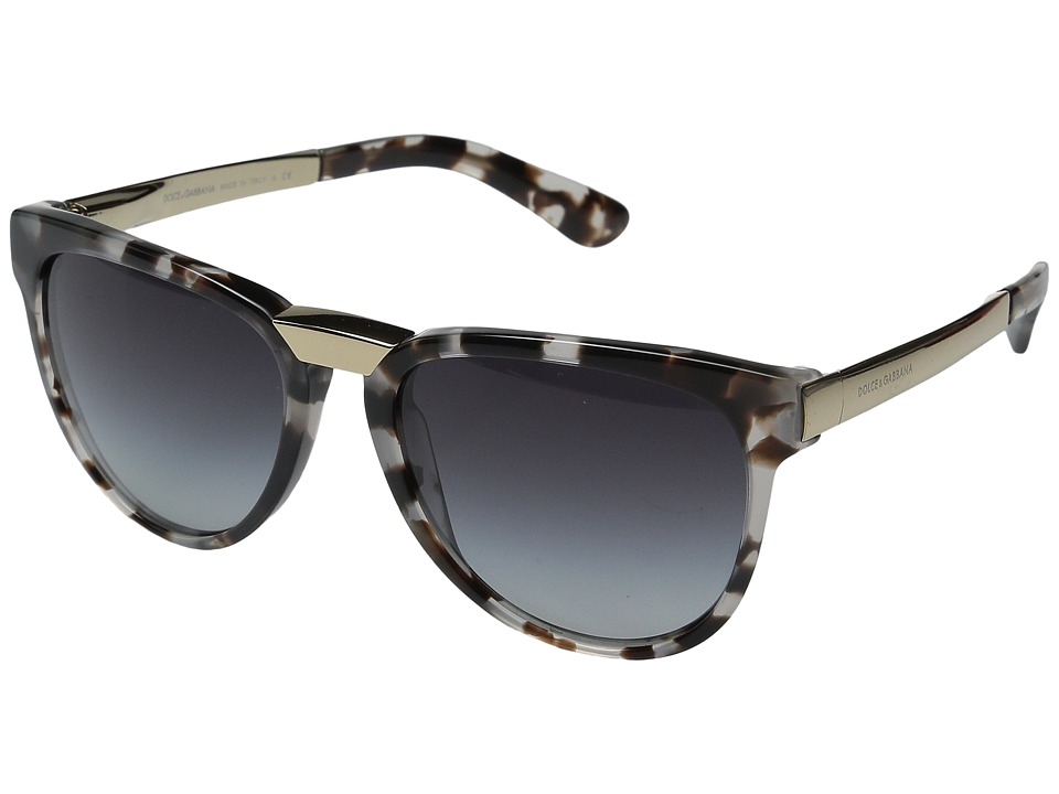 Dolce & Gabbana - 0DG4257 (Cubed Ice/Grey Gradient) Fashion Sunglasses