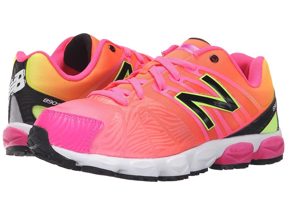 New Balance Kids - KJ890 (Big Kid) (Pink) Girls Shoes