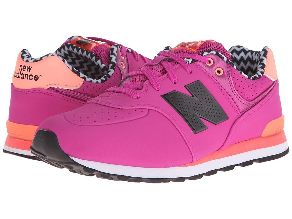 New Balance Kids - KL574 (Big Kid) (Pink 2) Girls Shoes