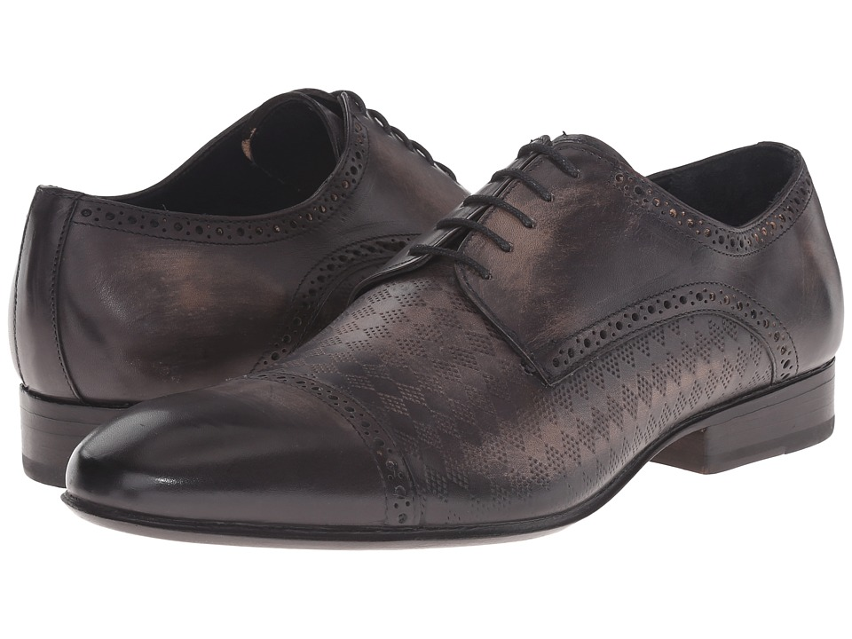 Messico - Aldo Welt (Black Leather) Men's Lace Up Cap Toe Shoes