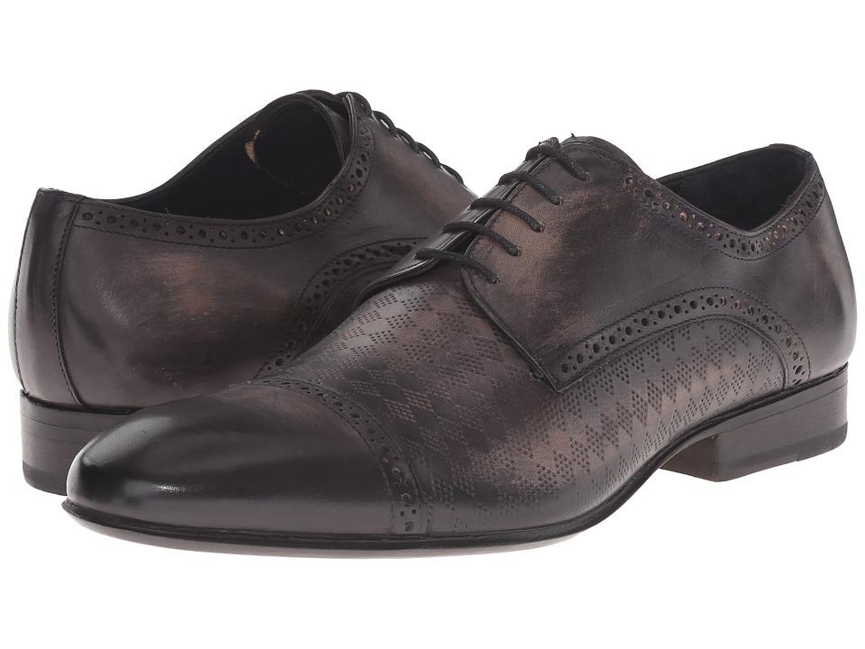 Messico Aldo Welt (Black Leather) Men's Lace Up Cap Toe Shoes