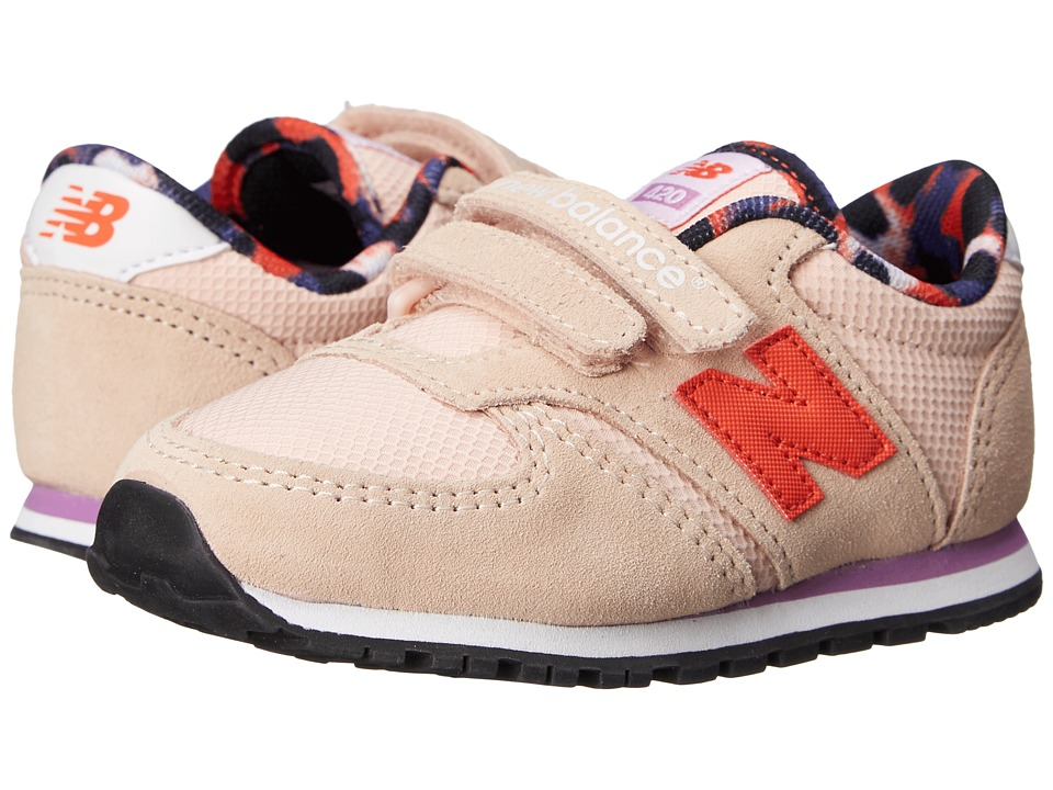 New Balance Kids - Classics 420 (Infant/Toddler) (Pink/Purple) Girls Shoes