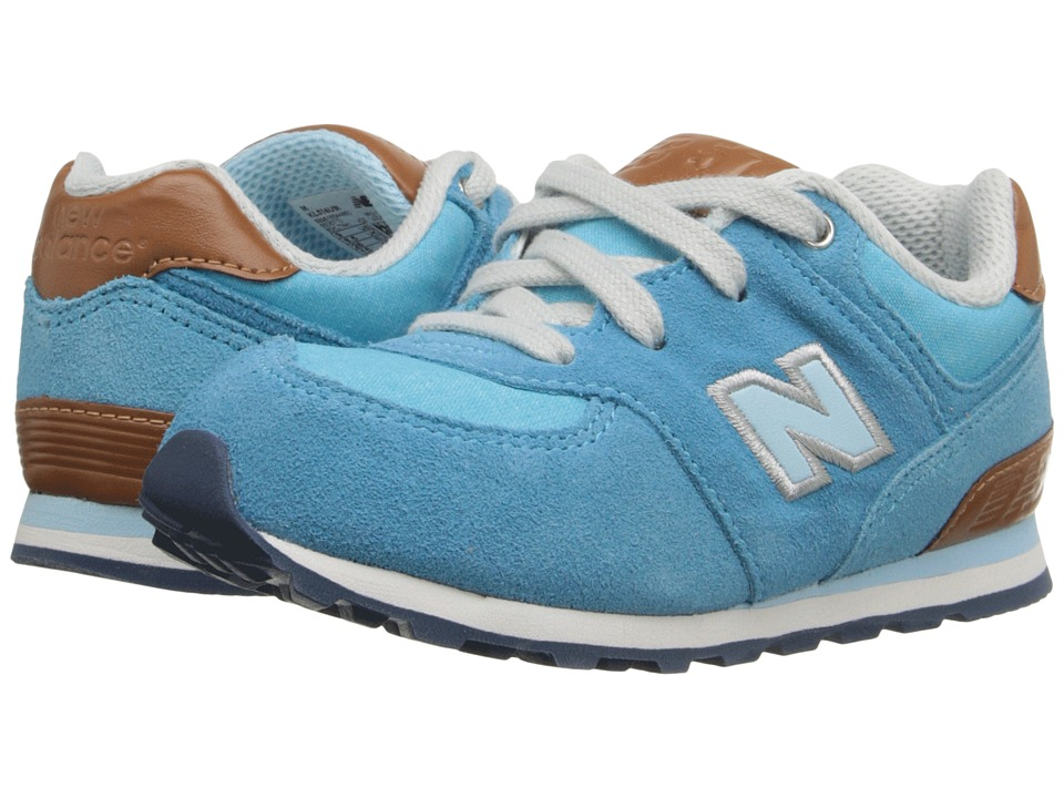 New Balance Kids - KL574 (Infant/Toddler) (Admiral Blue) Girls Shoes