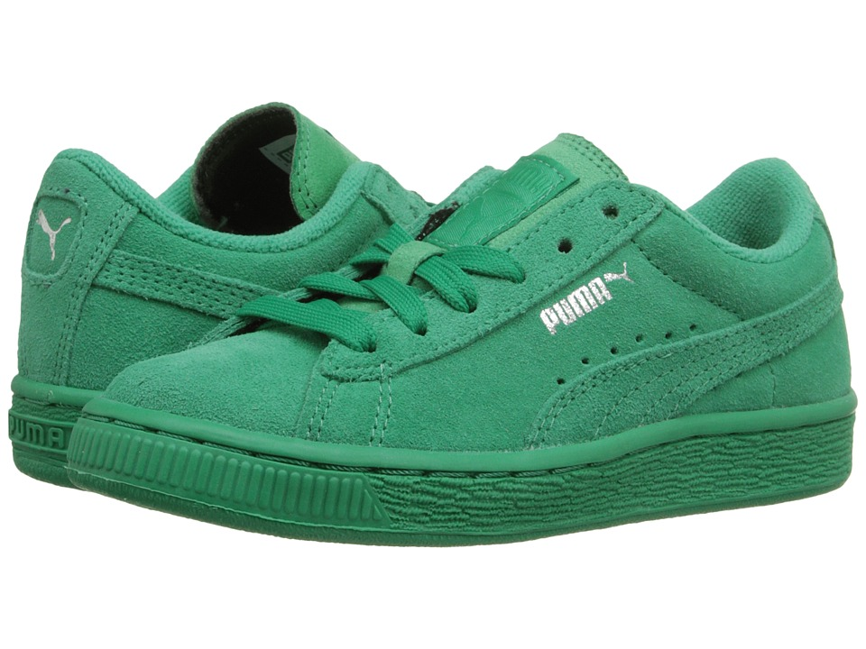 Puma Kids - Suede Classic (Toddler/Little Kid/Big Kid) (Simply Green/Simply Green) Kids Shoes
