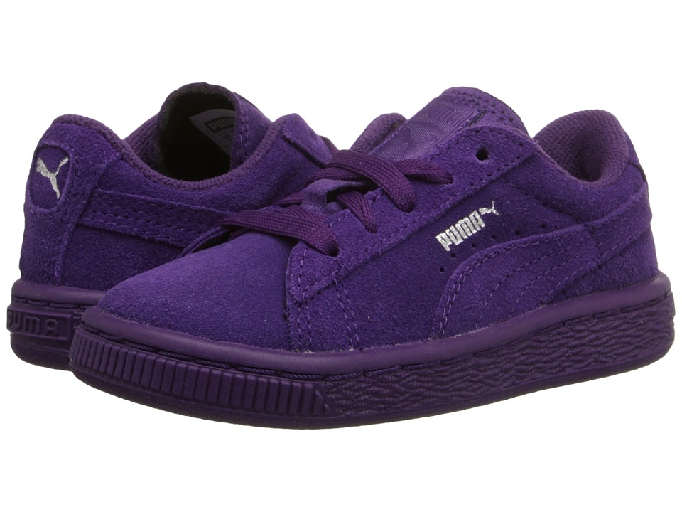Puma Kids - Suede Classic (Toddler/Little Kid/Big Kid) (Imperial Purple/Imperial Purple) Kids Shoes