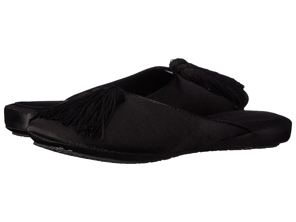 Patricia Green - Tassel (Black) Women's Slippers