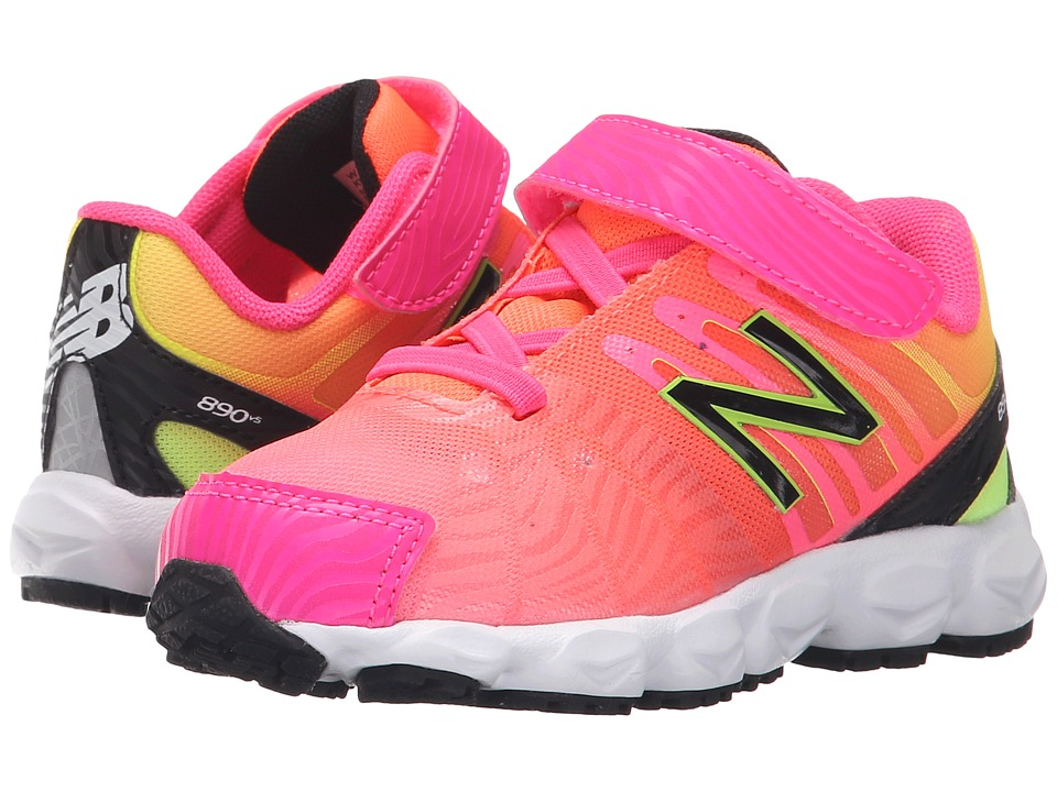 New Balance Kids - KV890 (Infant/Toddler) (Pink) Girls Shoes