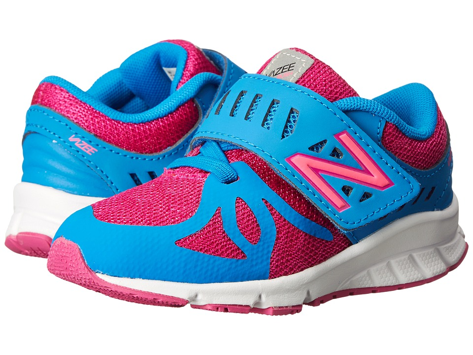 New Balance Kids - KVRUS (Infant/Toddler) (Purple/Blue) Girls Shoes