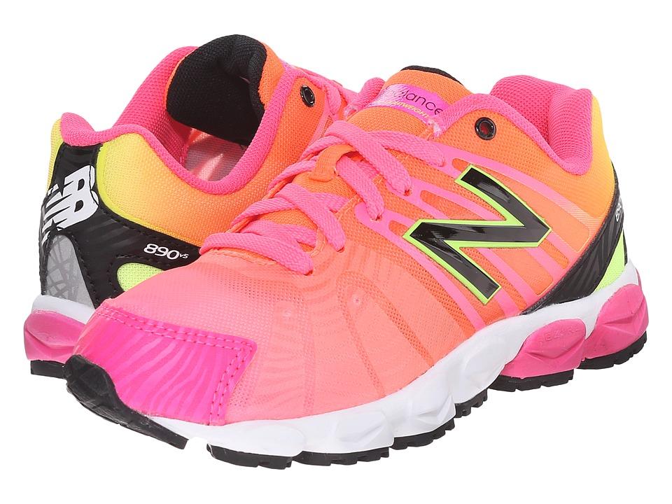 New Balance Kids - KJ890 (Little Kid) (Pink) Girls Shoes