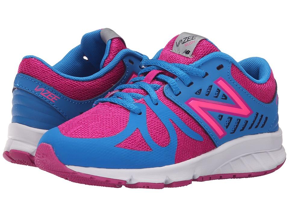 New Balance Kids - Vazee Rush (Little Kid) (Purple/Blue) Girls Shoes