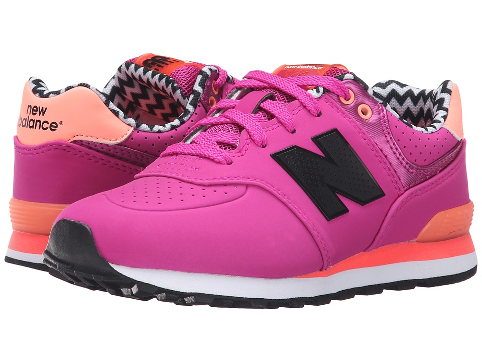 New Balance Kids - KL574 (Little Kid) (Pink 2) Girls Shoes