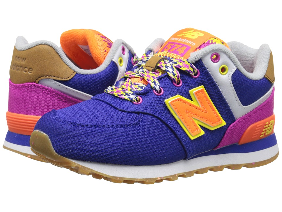 New Balance Kids - KL574 (Little Kid) (Purple/Pink 1) Girls Shoes
