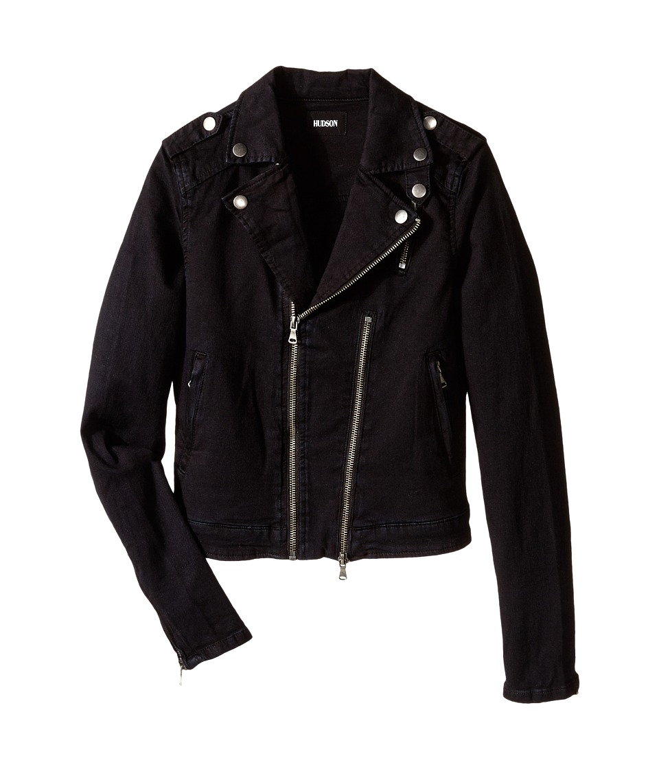 Hudson Kids - Cynic Moto Jacket (Big Kids) (Black) Girl