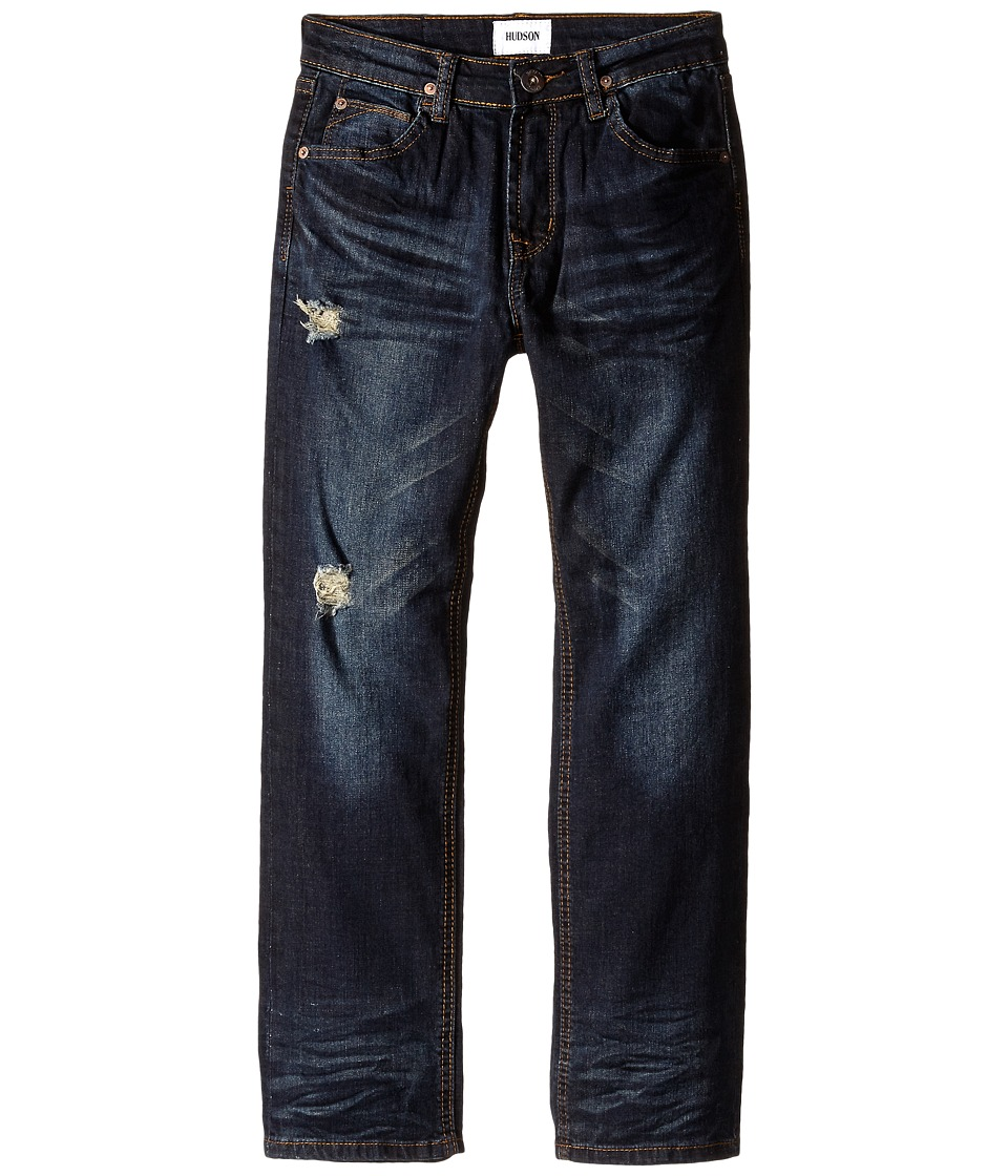 Hudson Kids - Parker Straight Leg Jeans in Ripped Ripedo (Big Kids) (Ripped Ripedo) Boy's Jeans