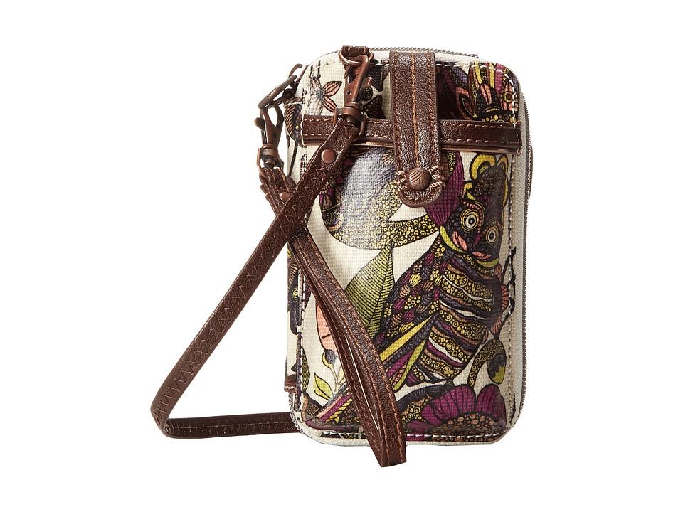 Sakroots - Artist Circle Smartphone Wristlet (Ivory Spirit Desert) Wristlet Handbags