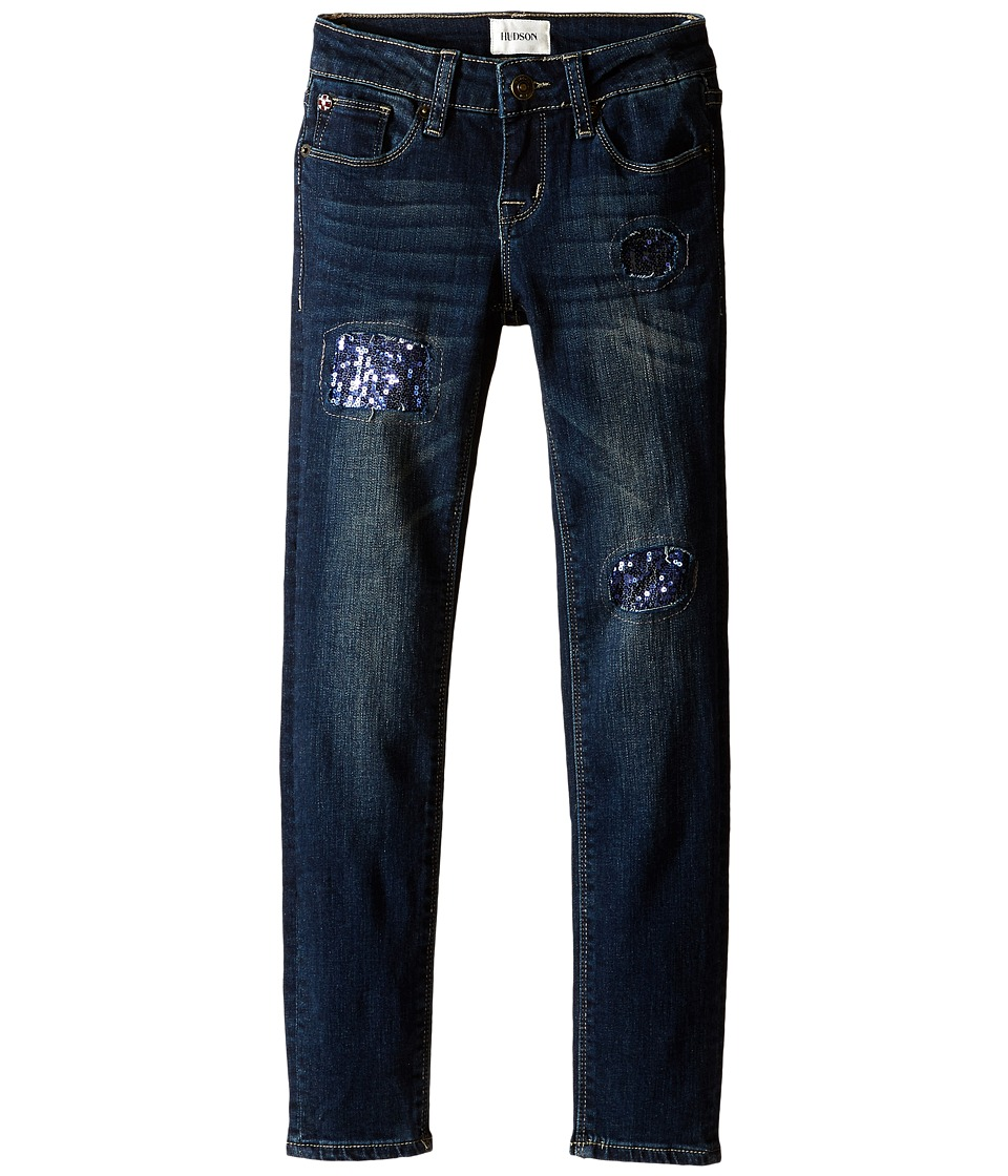 Hudson Kids - Dolly Skinny Jeans in Cracked Ice (Big Kids) (Cracked Ice) Girl's Jeans