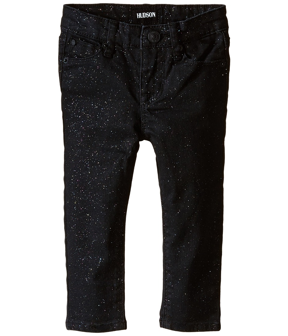 Hudson Kids - Repitition Skinny Jeans in Black/Daiquiri (Infant) (Black/Daiquiri) Girl's Jeans