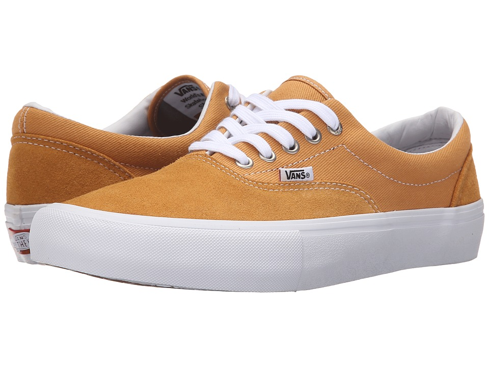 Vans - Era Pro (Spruce Yellow/White) Men's Skate Shoes