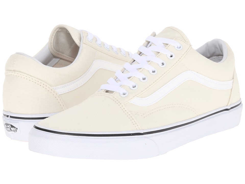 Vans Old Skool ((Canvas) Classic White) Skate Shoes