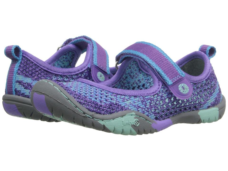 Jambu Kids Sora (Toddler/Little Kid/Big Kid) (Purple/Aqua) Girls Shoes