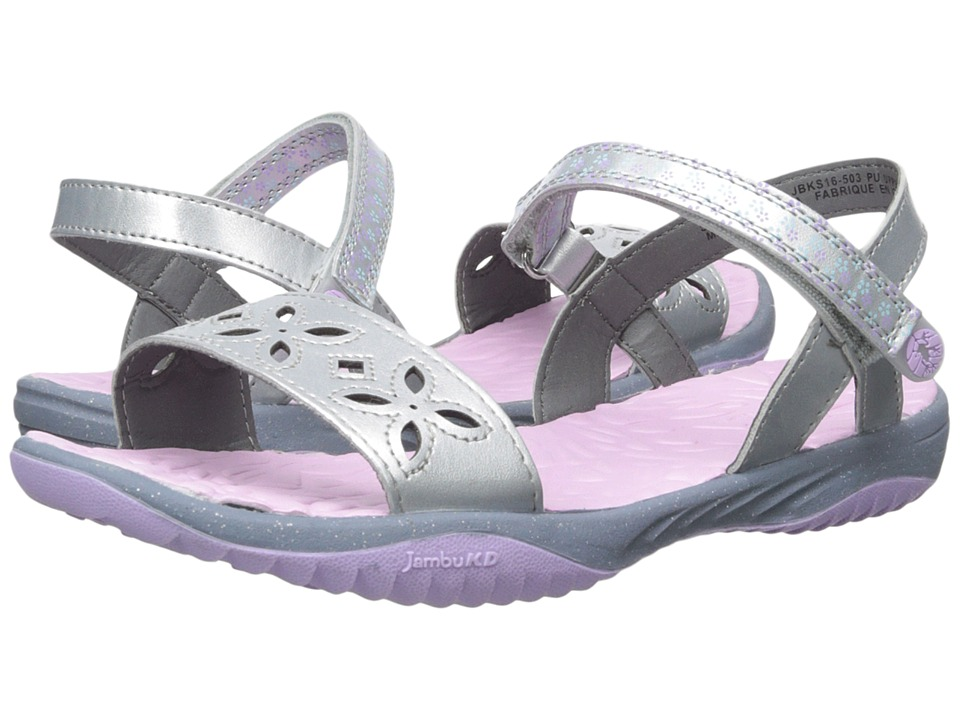 Jambu Kids - Ilia (Toddler/Little Kid/Big Kid) (Silver) Girls Shoes