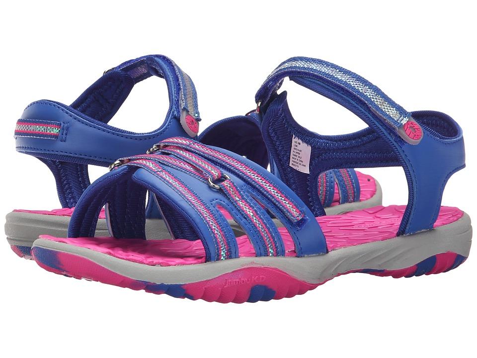 Jambu Kids Lowi (Toddler/Little Kid/Big Kid) (Blue) Girls Shoes