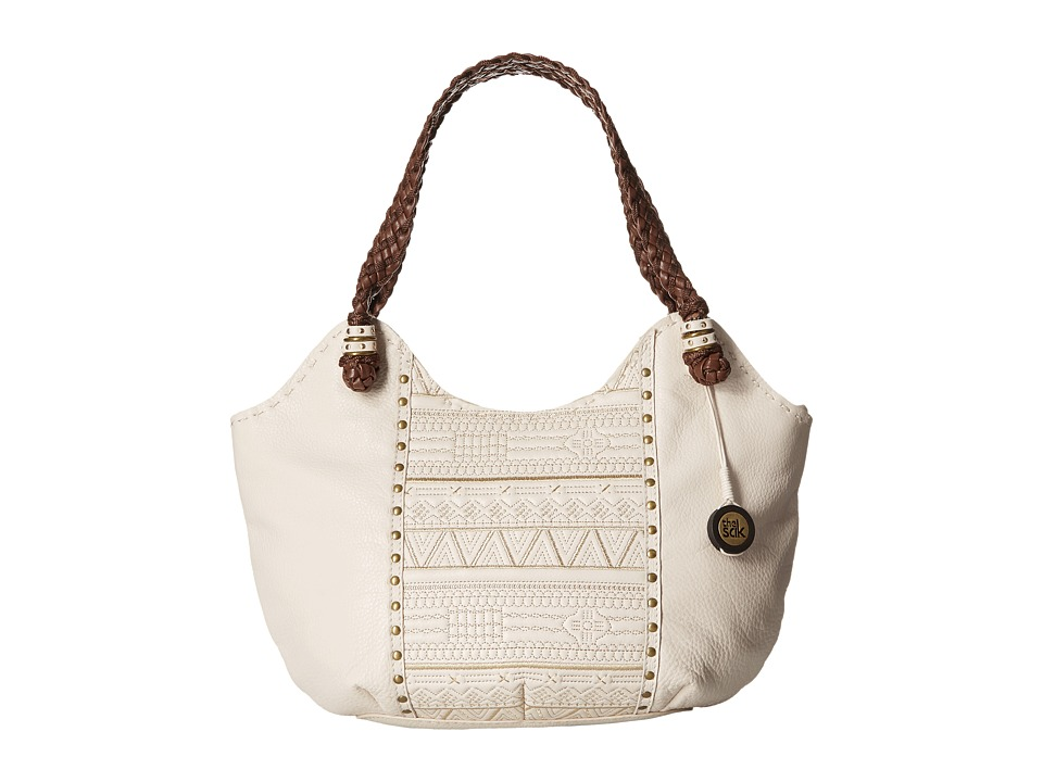 The Sak - Indio Satchel (Stone Tribal Quilt) Shoulder Handbags