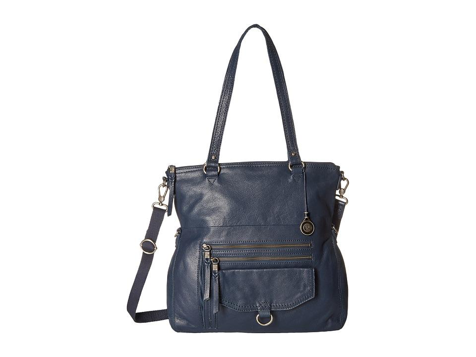 The Sak - Venata Foldover Tote (Ink) Satchel Handbags