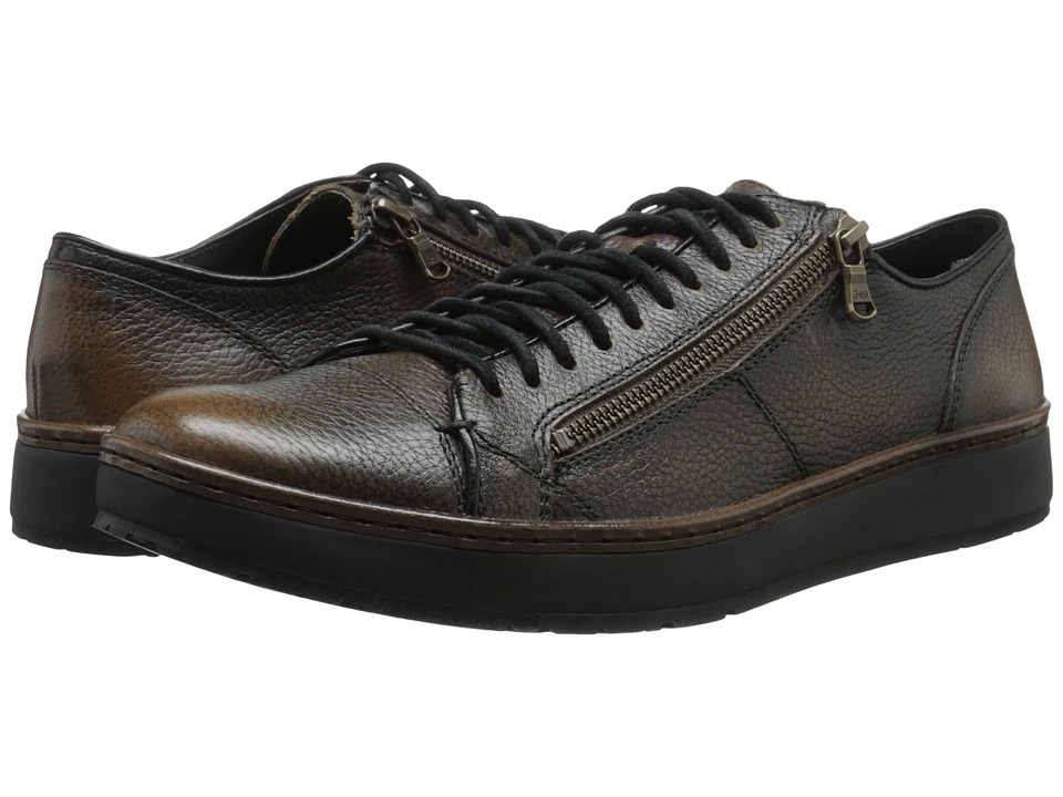 John Varvatos - Barrett Creeper Low Top (Walnut) Men